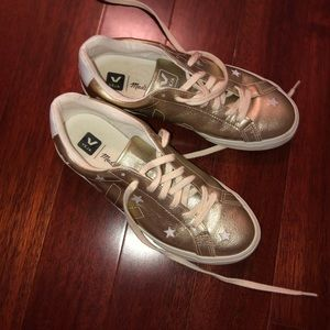 lightly worn veja x madewell sneakers!!